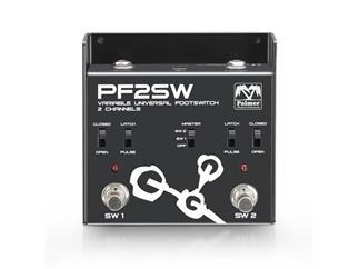 Palmer MI F 2 SW - Universal 2-Kanal Fußumschalter