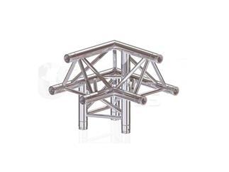 Global Truss F33PL-Version 3-Weg Ecke C32, 3-Punkt Traverse inkl. Verbinder