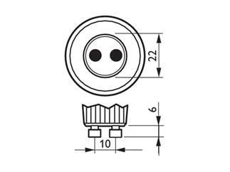 MAS LEDspotMV DimTone 4-35W GU10 827 40D 2700K