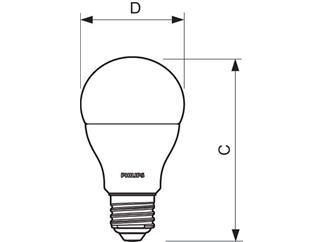 Philips CorePro LEDbulb 6-40W 827 E27 matt nicht dimmbar