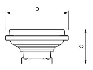 Philips MASTER LEDspot 11-50W 927 40D warm 2700k dimmbar