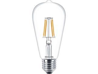 Philips Classic LEDbulb 4.3-40W E27 827 ST64 CL Filament nicht dimmbar