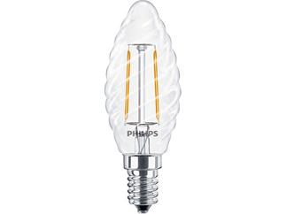 Philips Classic LEDcandle 2.3-25W E14 827 BW35 CL Filament-LED nicht dimmbar