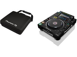 Pioneer CDJ-2000NXS2 - Digitales Profi-DJ-Deck + Softcase