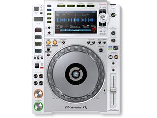 Pioneer CDJ-2000NXS2-W - Digitales Profi-DJ-Deck mit HiRes-Audio Weiß