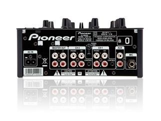 Pioneer DJM-350, 2-Kanal Effekt-DJ-USB-Mixer schwarz