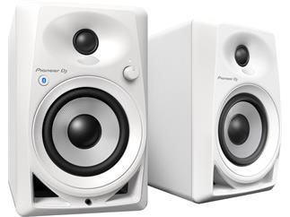 Pioneer DM-40BT-W - 4-Zoll Dektop-Monitorlautsprecher Weiß