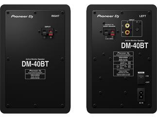Pioneer DM-40BT - 4-Zoll Dektop-Monitorlautsprecher Schwarz