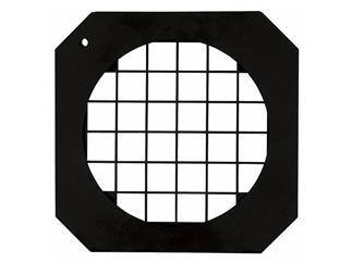 Filterrahmen für PAR-56 kurz, schwarz, mit Gitter