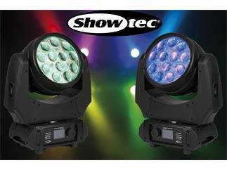 2er Set SHOWTEC Phantom 120 LED Wash - 12 x10W RGBW Moving-Head