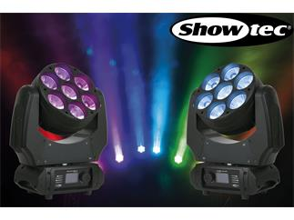 2er Set Showtec Phantom 70 LED Beam - 7 x 10W RGBW LED