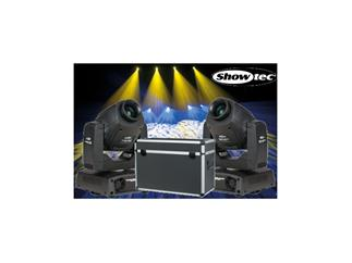 2x Showtec Phantom 50 LED Spot MKII 50W Moving-Head-Bundle inkl. CASE