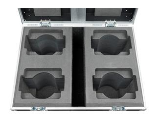 Infinity iW-340 RGBW 4er SET inkl. Flightcase