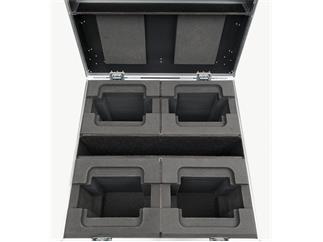 Infinity iW-740 RGBW 4er SET inkl. Flightcase