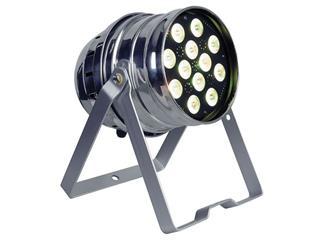 Showtec LED PAR 64 Q4-12 Polished, QCL-LEDs, RGBW