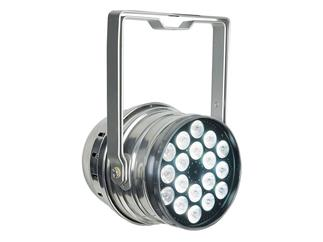 Showtec LED PAR 64 Q4-18 Polished, QCL-LEDs, RGBW