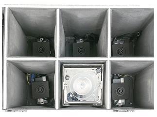 Showtec Eventspot 1800 Q4 Set 6x Eventspot Tourpack im Case