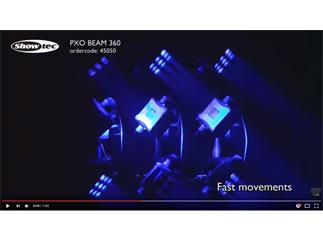 Showtec PXO Beam 9 x 10W RGBW LED Moving-Head