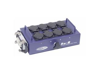 BO-8-S1 Powerbox mit 8 Schutzkontakt, 1x Multipin