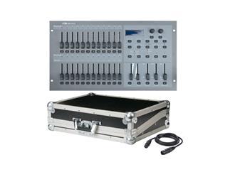 Showtec SC-2412, 48 Kanal DMX Controller, patchbar inkl. Case + Kabel