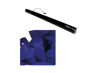 Showtec elektrische Streamer/Luftschlangen Kanone 80cm Blau (schwer entflammbar) - Restposten