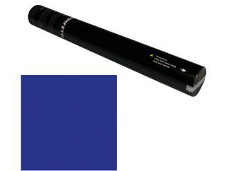 Showtec Handheld Konfetti Kanone 50cm dunkel blau (schwer entflammbar)