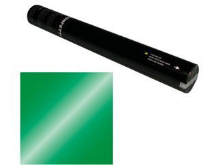 Showtec Handheld Konfetti Kanone 50cm grün metallic (schwer entflammbar)