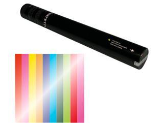 Showtec Handheld Konfetti Kanone 50cm Multicolor Metallic (schwer entflammbar)