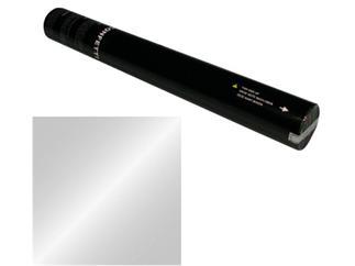 Showtec Handheld Konfetti Kanone 50cm silber Metallic (schwer entflammbar)