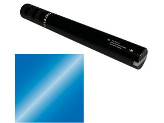 Showtec Handheld Konfetti Kanone 50cm blau Metallic (schwer entflammbar)