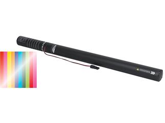 Showtec Electric streamer cannon Pro 80cm, Multi Metallic