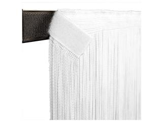SHOWTEC String Curtain 3(h)x3(w)m White, incl velcro