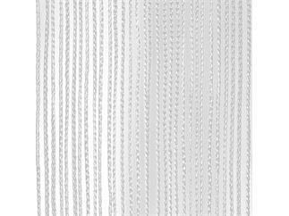 SHOWTEC String Curtain 4(h)x3(w)m White, incl velcro