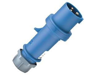 CEE Form 16A 3 Pol Kabel Stecker, blau