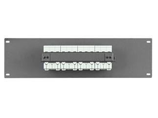 """Showtec PDP-F4323 19"""" Paneel mit 4 x 32A MCB 3 Pol"""