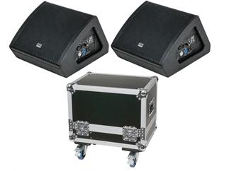 "DAP-Audio M10 BUNDLE, 2x aktiver Monitorlautsprecher 10"" inkl. CASE"