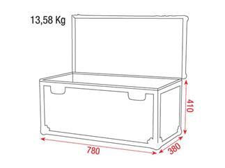 DAP Stack Case 3, Packmaß-Case, 780 x 380 x 410mm