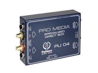 Palmer PLI04 - Media DI-Box für PC und Laptop