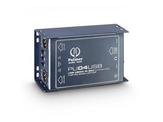 Palmer Pro PLI 04 USB - Stereo-DI-Box und Line Isolator mit USB-Eingang