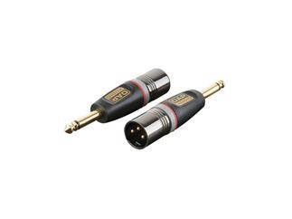 XGA27 - XLR/M 3p. > Jack/M mono, Adapter Mono Klinke auf XLR Male