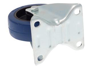 PROmagiX Bockrolle 100mm, 160 kg pro Rolle blau