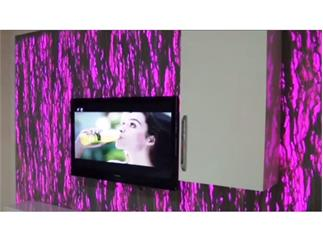 Pro Lighting Lightstone Panel Pure 60x120x1 cm, Natursteinplatte ohne Beleuchtung