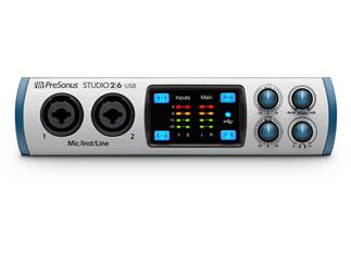 Presonus Studio 26 Audiointerface