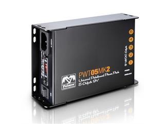 Palmer MI PWT 05 MK 2 - Universelles 9V-Netzteil für Pedalboards 5 Ausgänge