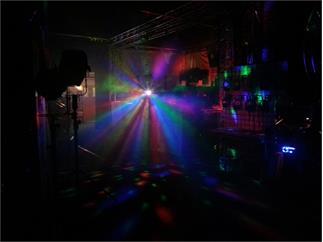 eurolite Hexopus-Partyset omnilux BC-1 Spiegelkugeleffekt E27