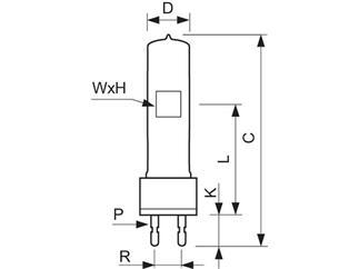 G22   230V  1000W  CP/71 (CP/40)   Philips  6995Z