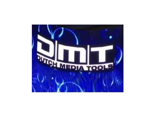 DMT PixelMesh 8x P12,5 komplett Set, 1,6m x 1,6m inkl. Madrix DVI, DJ Background Set