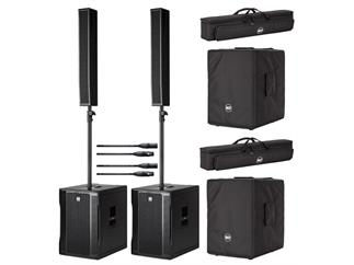 RCF Evox 12 Aktives 2-Wege Array System Stereo SET inkl. Kabel und Cover