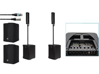 RCF EVOX J8 Mix Bundle inkl Kabel und Cover