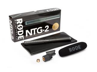 Rode Richtrohrmikrofon NTG-2 - Superniere Mikrofon